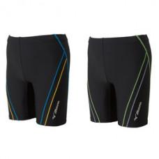 MIZUNO 美津濃 Fitness 泳褲 N2JB710292黑/淺藍 / N2JB710293 黑/萊姆綠