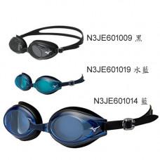 MIZUNO 美津濃 泳鏡 (日製FINA認證.方盒) N3JE601009 煙灰 / N3JE601014 藍/ N3JE601019 水藍