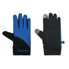 Mountneer 山林 中性抗UV觸控手套-寶藍/黑 11G01-80