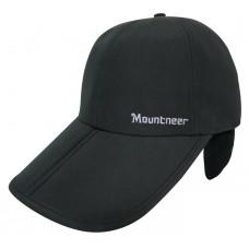 Mountneer 山林 中性帽眉可折耳罩帽 12H01
