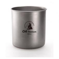 OA 山貓 羽量 輕鈦杯500ml.85g 登山 露營 戶外活動 D69