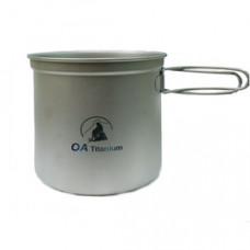 OA 山貓 羽量 輕鈦套鍋三件-305g 羽量 純鈦 環保餐具 無毒 登山露營 E205