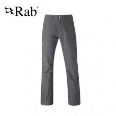 Rab Vertex 男 排汗透氣長褲-石墨灰 QFS-95-GR