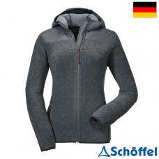 Schoffel 女 Sakai+ 超保暖連帽外套-麻灰 8SL20-12224-9