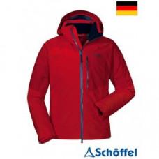 Schoffel 男 Padova2 GT防水配色連帽外套(ZPN)-紅 8SL20-22299-2