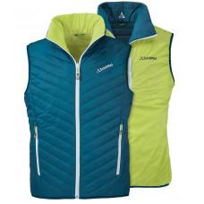 Schoffel 男 Loft防風保暖雙面背心 SL20-20832-88-藍綠 -99黑