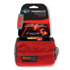Sea to Summit 單人保暖睡袋內套 (極限升溫款) 紅 AREACT-EX