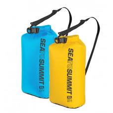 Sea to Summit 70D可揹負式輕量防水收納袋 (10L) 藍/黃 ASBAG10L