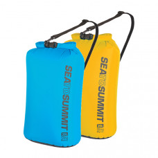 Sea to Summit 70D可揹負式輕量防水收納袋 (20L) 藍/黃 ASBAG20L