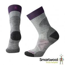 Smart Wool 美國 女 PhD Pro Expedition輕量避震中長襪 淺灰 SW001011-039
