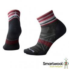 Smart Wool 美國 女 PhD戶外減震印花低筒襪 炭黑 SW001116-003