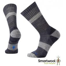 Smart Wool 美國 男 BARNSLEY線條中長襪-深海軍藍 SW010414-108