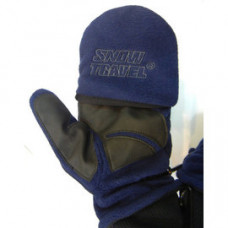 Snow Travel 雪之旅   超保暖~防風保暖手套  翻蓋半指手套 ST-AR48