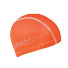 Speedo 兒童合成泳帽 Pace-亮橘 SD8720736526B