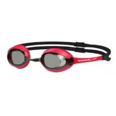 Speedo  成人競技泳鏡 MERIT- 紅/黑 SD8028378912
