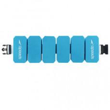 Speedo 成人進階型 可調整式阻力腰帶 Aqua Belt 藍 SD8069160309