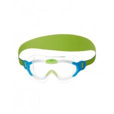 Speedo 童 進階面罩泳鏡 Sea Squad-藍 2-6歲適用 SD8087638029