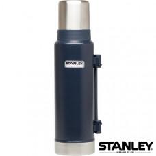 Stanley 經典真空保溫瓶 1.3L-錘紋藍 1001032-002