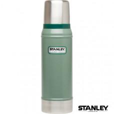Stanley 經典真空保溫瓶 0.75 L-錘紋綠 1001612-001