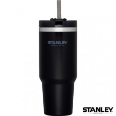 Stanley 冒險系列吸管隨手杯 0.88L-黑 1002663-002