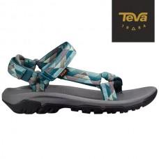 Teva Hurricane XLT 女涼鞋-幾何藍綠 TV1019235KBML