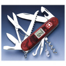 Victorinox 19用登山者瑞士刀-透紅 1.3705AT