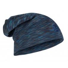 Buff 西班牙 100%美麗諾羊毛精靈帽(耐寒)-丹寧條紋 BF118187-788