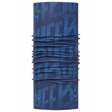Buff 西班牙 Coolmax 95%防曬抗UV頭巾 海軍藍紋 BF113613-790