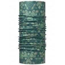 Buff 西班牙 Coolmax 95%防曬抗UV頭巾 百慕達綠印 BF113619-842