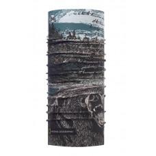 Buff 西班牙 Coolmax 95%防曬抗UV頭巾 國家地理頻道 森林熊蹤 BF117131-555