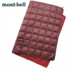 mont.bell DownBlanket 羽絨毯(M)- 1124593- 橄綠  褐/紫 二色