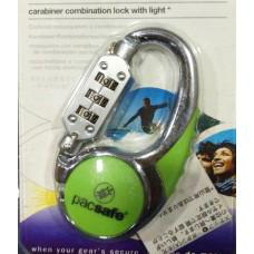 Pacsafe 550夜燈密碼鎖-綠 PA-PE269GR