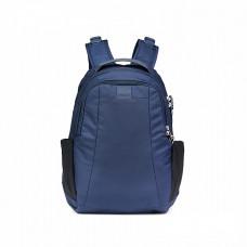 Pacsafe Venturesafe 15L防盜雙肩背包-黑/深藍 30430