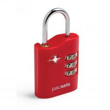 Pacsafe Prosafe650 TSA密碼掛鎖 紅 10230-300